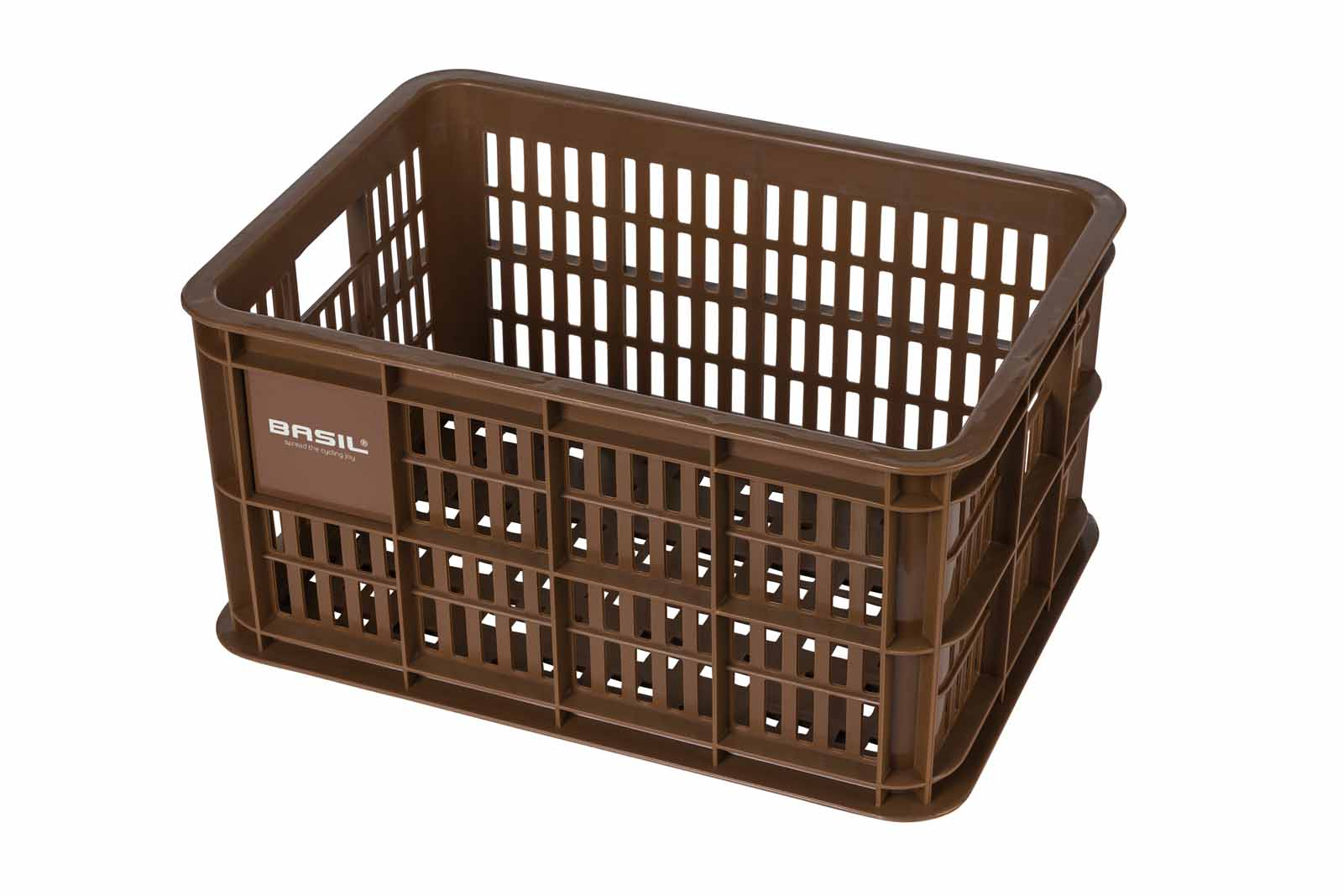 Basil V.R.-Korb Crate S MIK, saddle brown - Bild 1